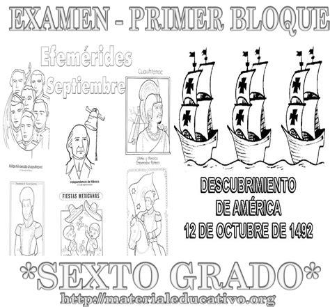 Examen Bimestral Del Primer Bloque De Sexto Grado Ciclo Escolar 2014 | examen bimestral del primer bloque de sexto grado ciclo