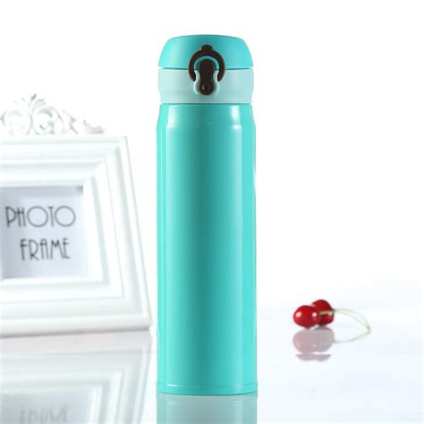 Botol Minum Stainless Cars botol minum thermos stainless steel 500ml blue