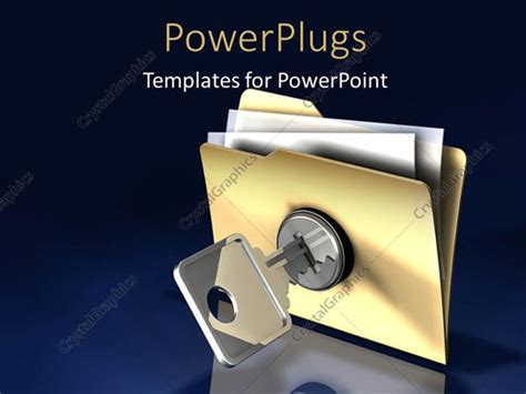 powerpoint template blue background with chrome key