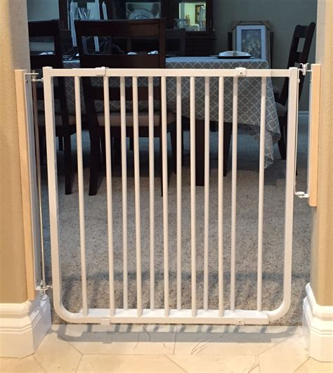 Best Gate For Top Of Stairs With Banister Custom Baby Safety Stair Gate Baby Safe Homes