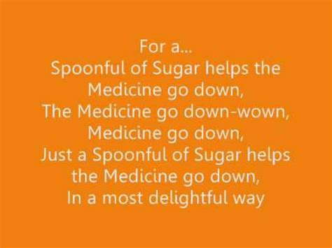 mary poppins 'a spoonful of sugar' lyrics ♫ youtube