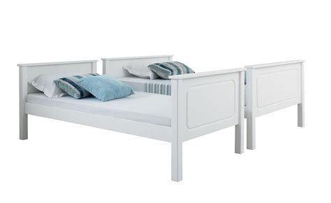 Vancouver Bunk Beds Happy Beds Vancouver 4ft Bunk Bed Sleeper Solid Pine Mattresses Ebay