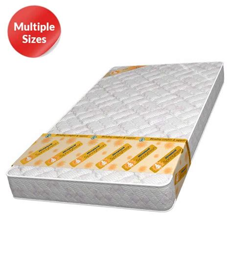 Sleepwell Mattress Types by Sleepwell Comfy Tranquil Royale Mattresses Buy Sleepwell