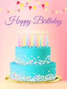 Cards Birthday Chic Birthday Cake Card Birthday Greeting Cards By Davia