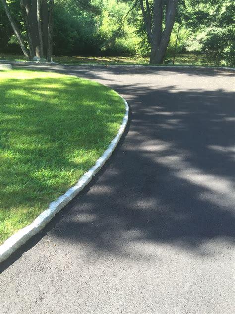 driveway edging driveway cobblestone edging manning tree landscape