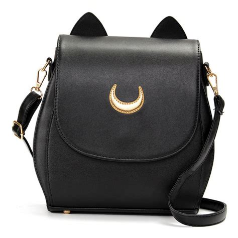 Backpack Cat The Moon cat sailor moon backpack
