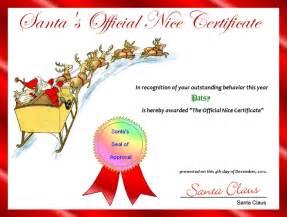 free printable santa certificate template free santa list certificate template new calendar