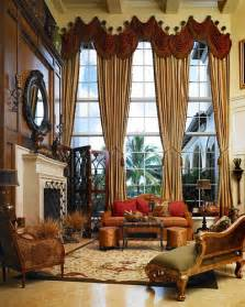 Designer Window Treatments Living Room Pinterio Living Room Draperies