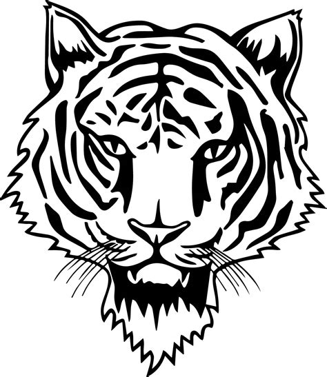 tiger mask coloring page new tiger face coloring page wecoloringpage