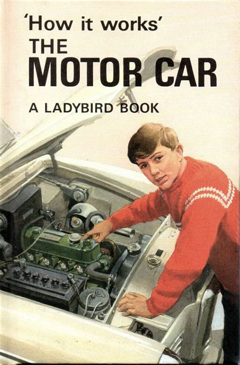 a vintage ladybird book the motor car how it works series 654 matte hardback re issue 2008
