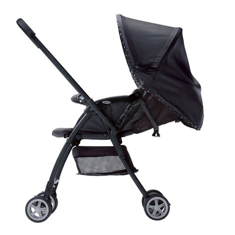 aprica karoon stroller multi dot black