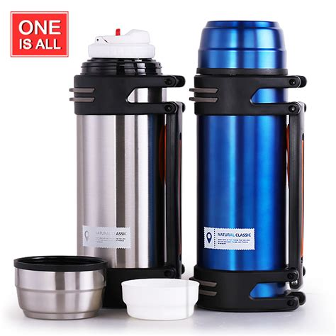Solar Thermos Cing Hiking Kettle 500ml 2l thermos cup stainless steel travel kettle thermos insulated mug thermo mug hiking thermal