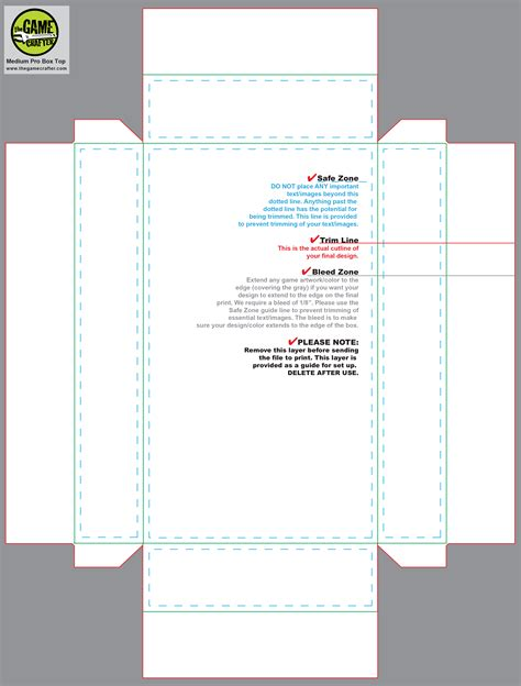 Medium Pro Box Box Design Templates Illustrator