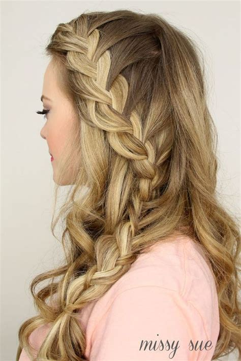 hair down hairstyles pinterest 2015 prom hairstyles half up half down prom hairstyles
