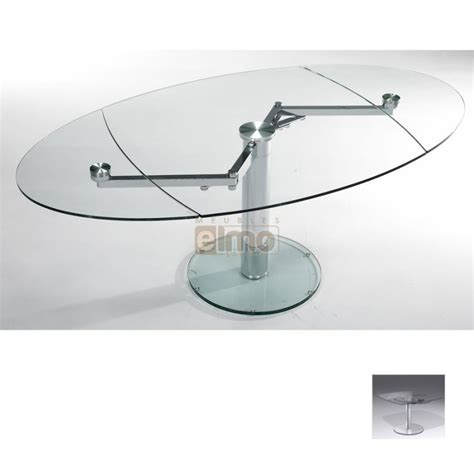 table verre extensible