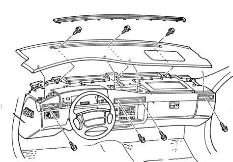service manuals schematics 1999 cadillac seville instrument cluster service manual 1999 cadillac seville remove dashboard