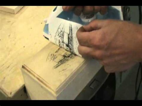 pattern transfer paper for wood iron transfer patterns for pyrography youtube