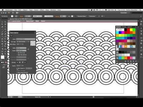 adobe illustrator cs6 pattern maker demo youtube adobe facebook and japanese patterns on pinterest