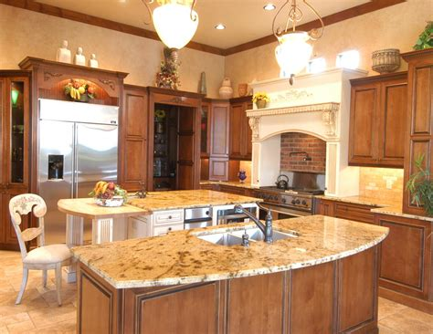 kitchen cabinets palm desert cabinets of the desert dual islands traditional kitchen