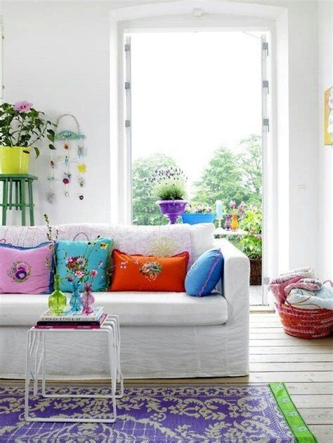 Summer Room Decor 33 Cheerful Summer Living Room D 233 Cor Ideas Digsdigs