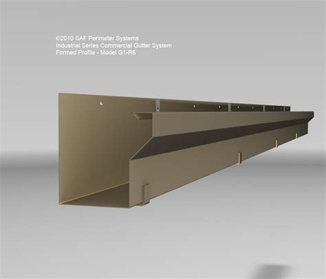 Cornice Lengths Commercial Gutter Systems Amp Downspouts Saf Southern