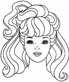 printable hairstyle pictures barbie hair coloring pages hairstyles haircuts free
