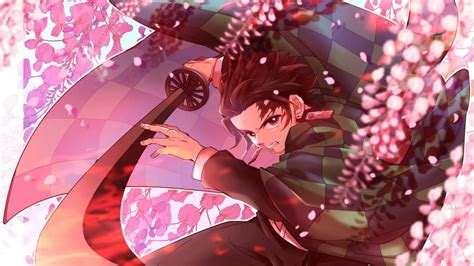 demon slayer tanjirou kamado  long sharp sword