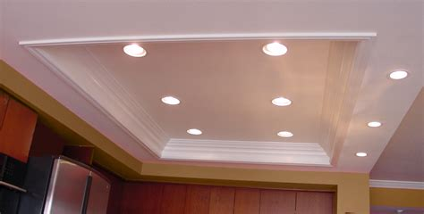 Overhead Kitchen Lights Beautiful Pot Lights In Kitchen Ceiling Taste