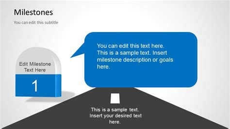 Milestones Template For Powerpoint Slidemodel Milestone Presentation Template