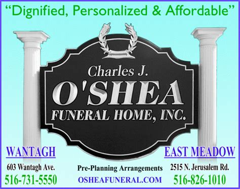 o shea charles j funeral home inc wantagh ny 11793