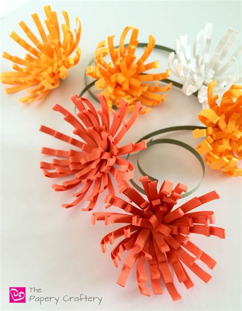 How To Make Paper Mums - 3571 best quilling plants and flowers nature images