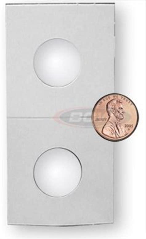 How To Make A Paper Coin Holder - 100 cardboard paper mylar coin holder flip cent