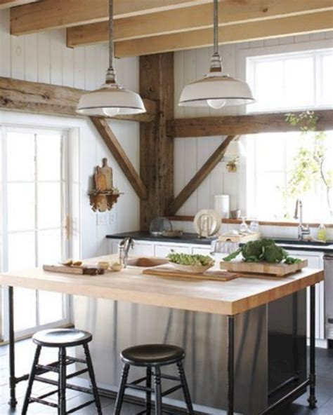 rustic kitchen island lighting 24 farmhouse rustic small kitchen design and decor ideas