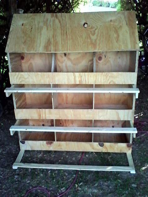 nesting boxes backyard chickens community