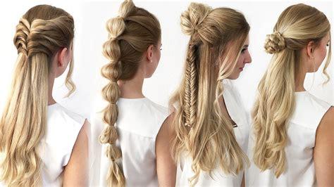 Einfache Frisuren by 4 Frisuren Mit Wow Effekt Einfach Schnell