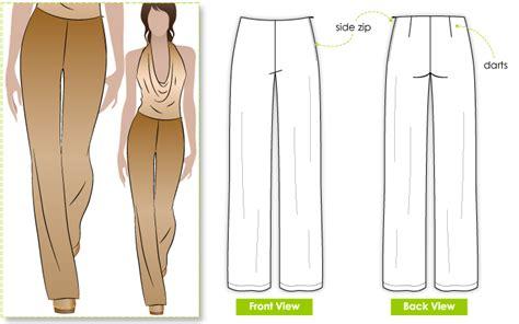 pattern making pants stylearc leah lounge pant