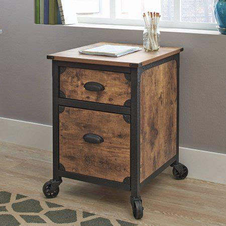 better homes and gardens rustic country desk weathered pine finish better homes and gardens rustic country file cabinet