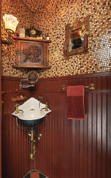 designing powder rooms and half baths restoration