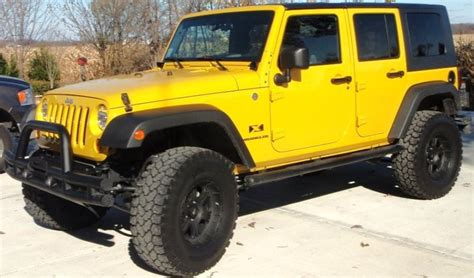 Jeep Yellow Detonator Yellow 2011 Jeep Paint Cross Reference