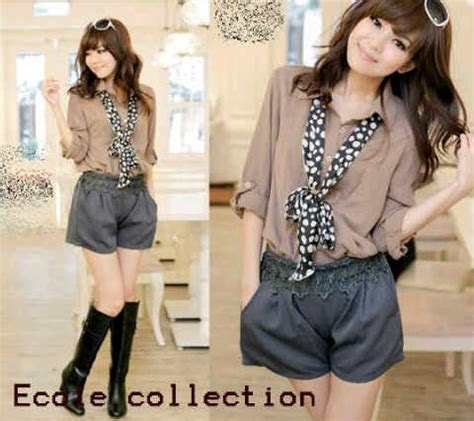 Blouse Kulit Jeruk Import new fashion