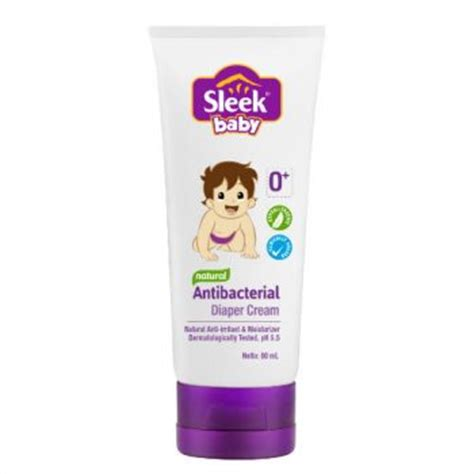 Sleek Baby Antibacterial 80ml sleek diapercream kino indonesia