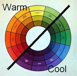 what are warm colors in is warm and cool colours