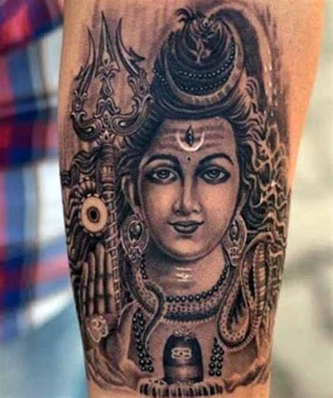 lord shiva tattoos design idea for men tattoos art ideas