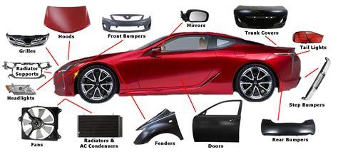 Car Auto Body by Body Parts Of A Car Carlazos Info