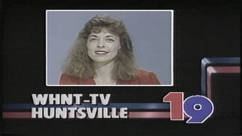 Local Id whnt tv channel 19 station i d news from 1986