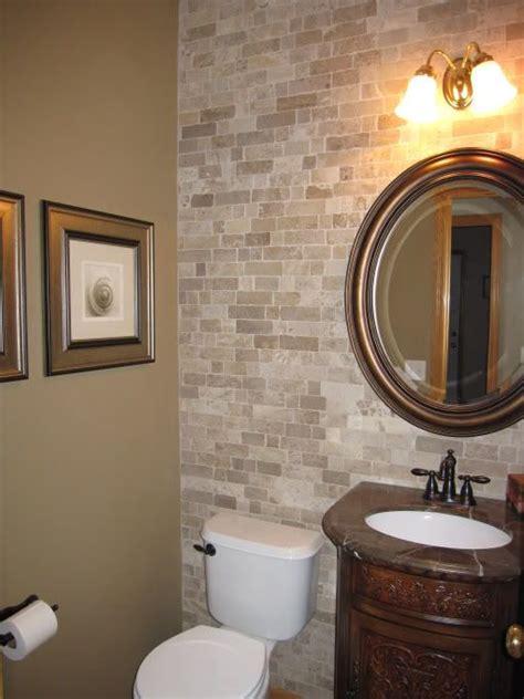 bathroom accent wall ideas  pinterest toilet
