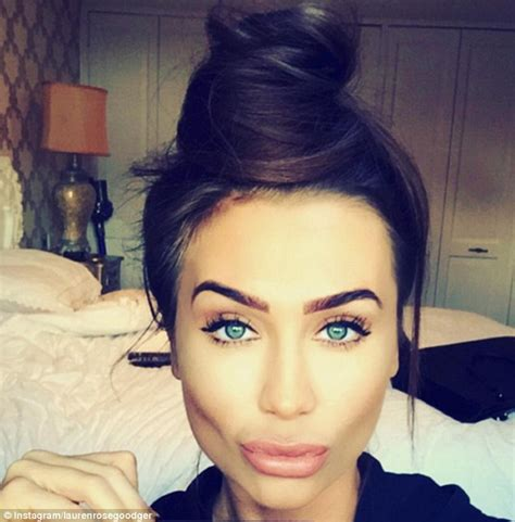 ex towie s lauren goodger shares wholesome instagram after