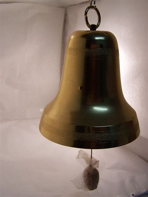 vintage musical christmas bell hanging by margaretsplace
