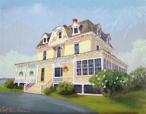 eisenhower house eisenhower house newport ri painting by betty ann morris