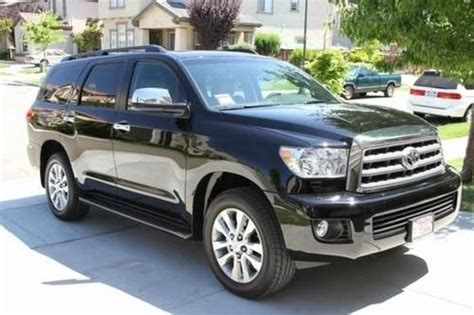 2012 Toyota Sequoia For Sale Find Used 2012 Toyota Sequoia 4x4 Limited In United States